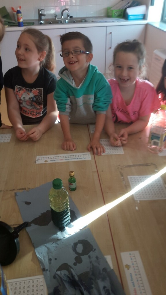 We had great fun watching the lava lamps form